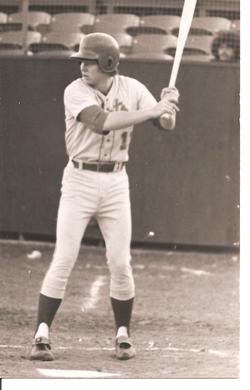 Visalia Mets Post Card Bill Gifford