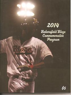 2014 Bakersfield Blaze Program