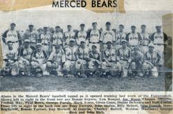 Merced Bears - 1941