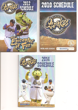 Rancho Cucamonga Quakes Schedules