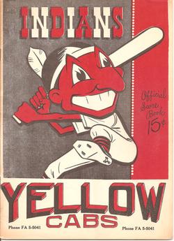 1954 Bakersfield Indians Program