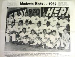 Modesto Reds - 1952