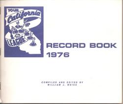 1976 California League Record Book