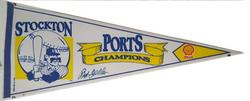 Stockton Ports Pennant