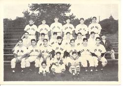 1950 San Jose Red Sox Team Photo