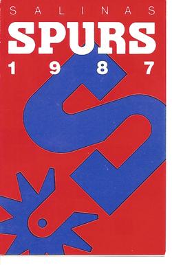 1987 Salinas Spurs Schedule
