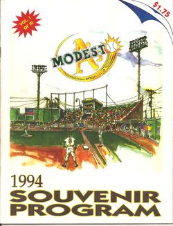 1994 Modesto As Program