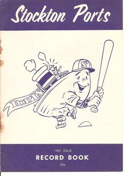 1957 Stockton Ports Record Book