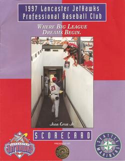 1997 Lancaster JetHawks Scorecard
