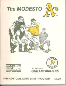 1986 Modesto As Program