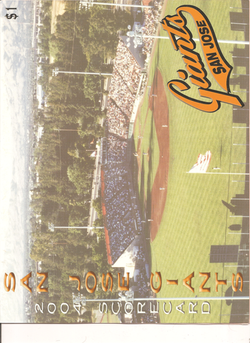 2004 San Jose Giants Scorecard