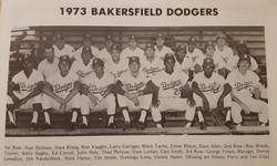 Bakersfield Dodgers- 1973