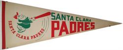 Santa Clara Padres Pennant
