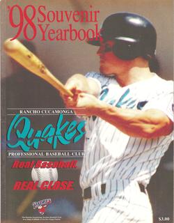 1998 RanchoCucamonga Quakes Yearbook
