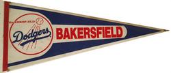Bakersfield Dodgers Pennant