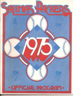 1975 Salinas Packers Program