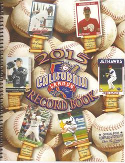 2015 California League Record Book