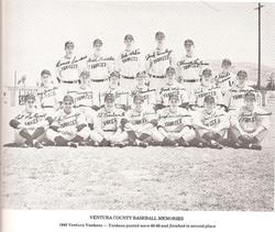 Ventura Yankees - 1948
