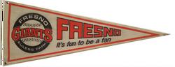 Fresno Giants Pennant