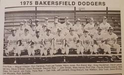 Bakersfield Dodgers - 1975