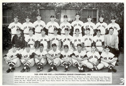 San Jose Red Sox - 1953