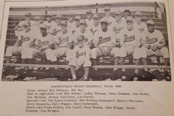 Bakersfield Bears - 1963