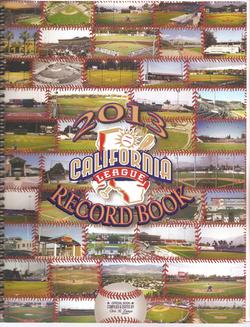 2013 California League Record Book