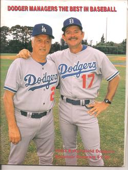 1993 Bakersfield Dodgers Program