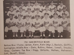 Bakersfield Bears - 1961