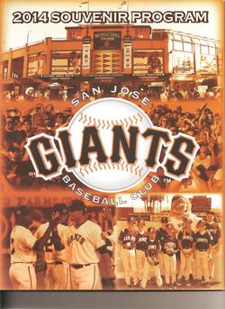 2014 San Jose Giants Program