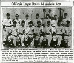 Anaheim Aces - 1941