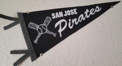 San Jose Pirates Pennant