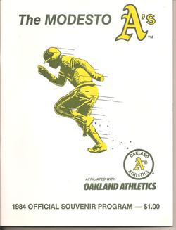 1984 Modesto As Program