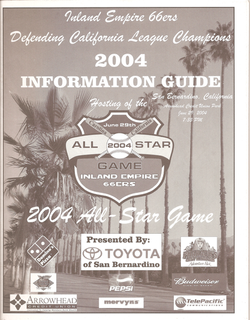 2004 Inland Empire 66ers Info Guide