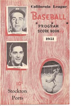 1951 Stockton Ports Program