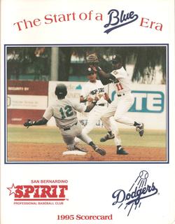 1995 San Bernardino Spirit Scorecard