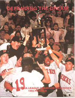 1992 High Desert Mavericks Program