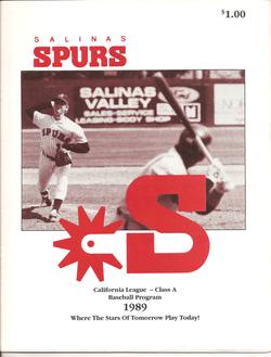 1989 Salinas Spurs Program