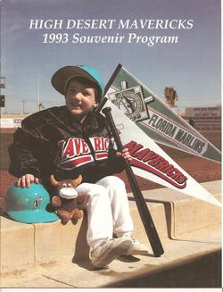 1993 High Desert Mavericks Program