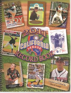 2011 California League Record Book