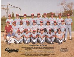 Visalia Oaks - 1984