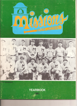 1981 San Jose Missions Yearbook
