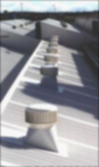 instalación de extractores eólicos industriales