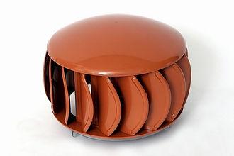 Extractor Eólico Policarbonato color naranja