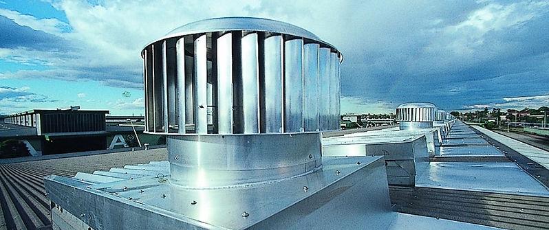 extractores eolicos industriales