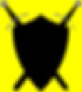 sword and shield clip art - yellow.png