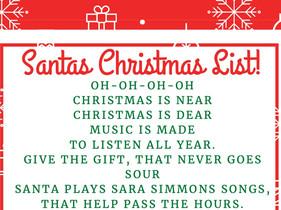 Santa's Christmas List
