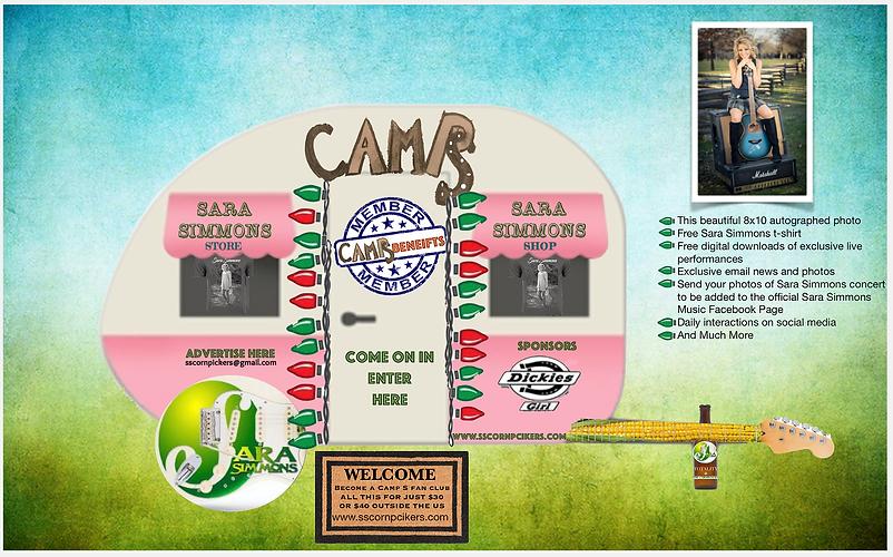 CampS Sara Simmons Fan Club