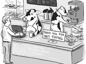 Heard You're Cow Tipping!