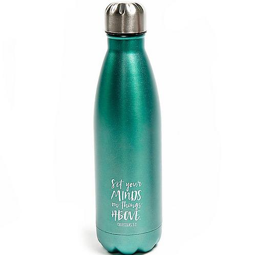 Stainless Steel Aqua Water Bottle